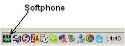 הגדרת Softphones 1