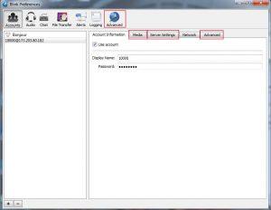 TLS Softphone setup – Israelnumber